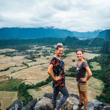 Vang Vieng, grottes et escalade