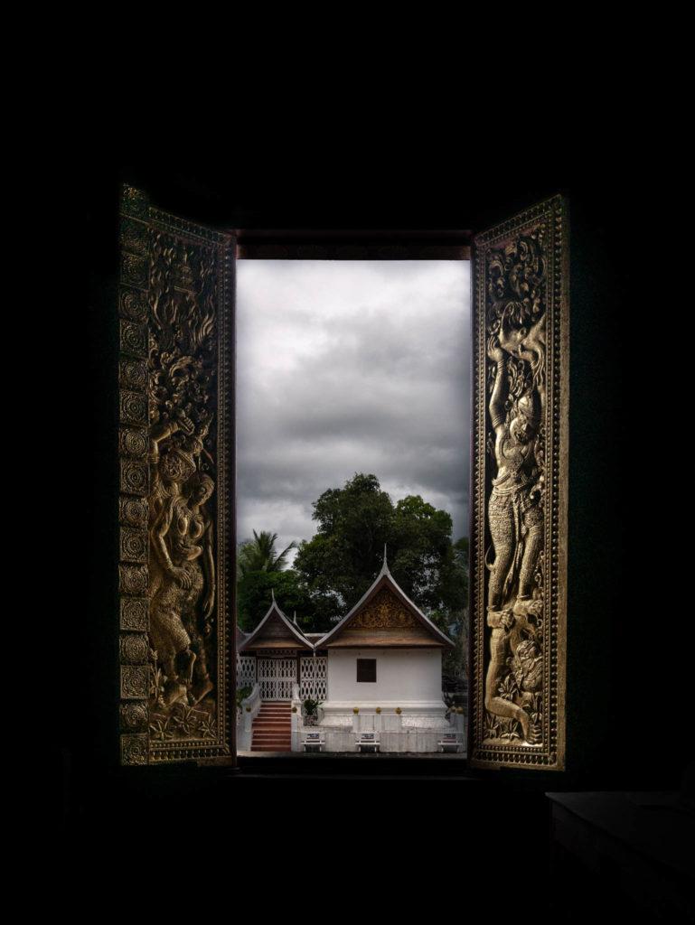 Une fenêtre d'un temple