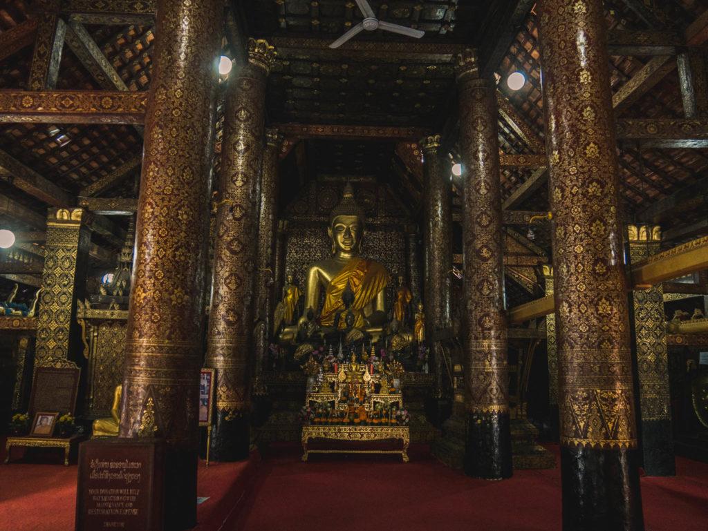 Un temple de Luang Prabang