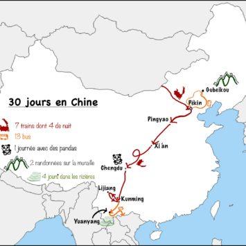 Bilan de 30 jours en Chine