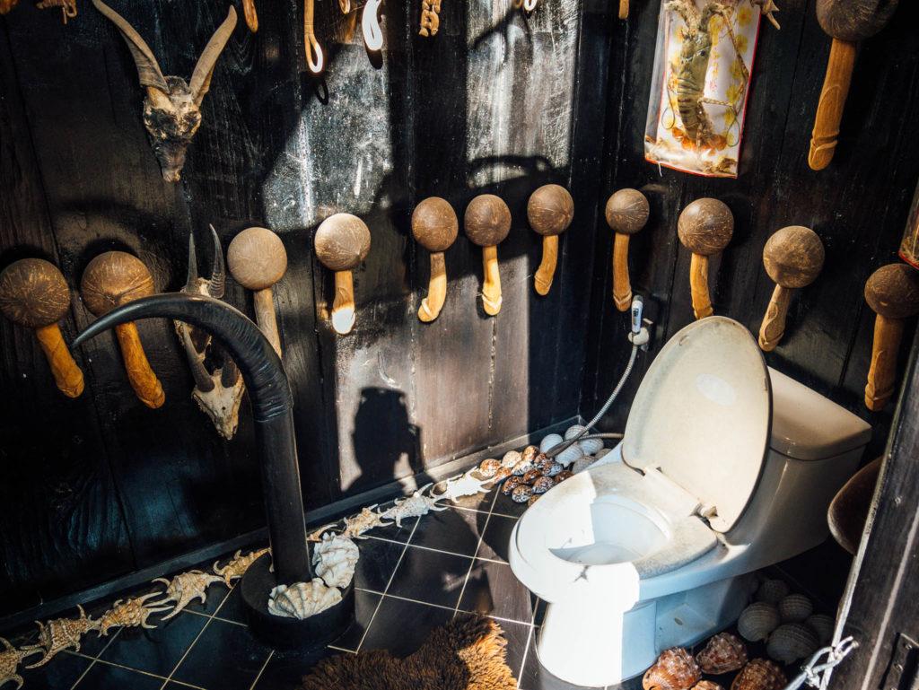 Des toilettes étranges