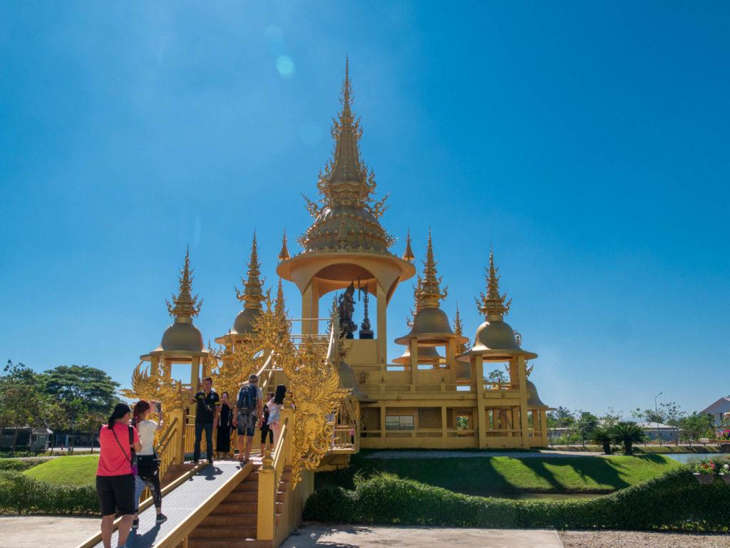 L'entrée du temple doré