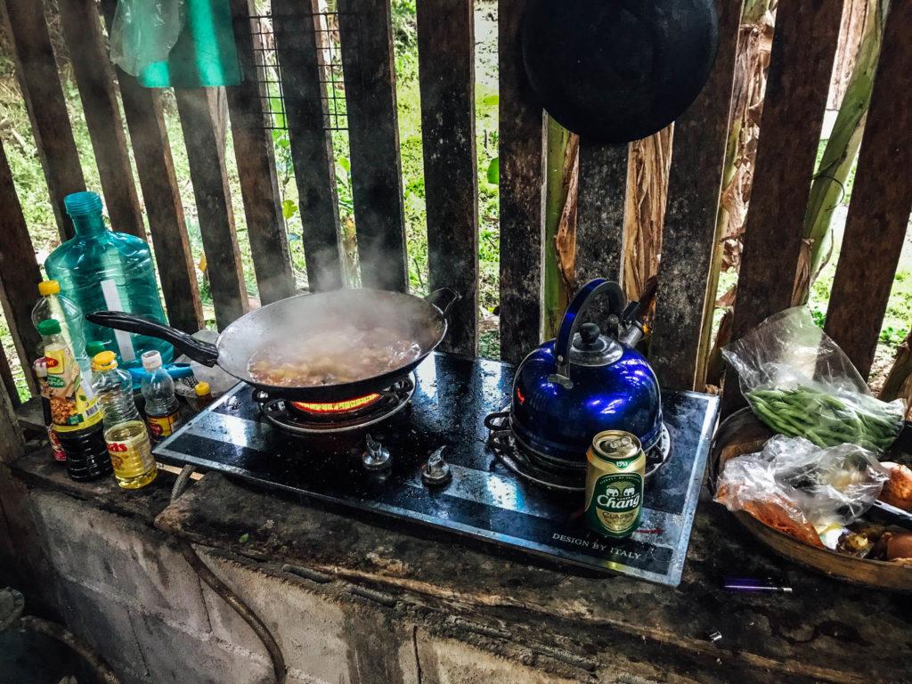 La cuisine semi ouverte de Jojo