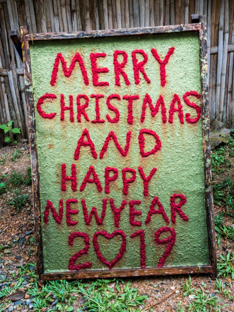Joyeux Noël et bonne année 2019!