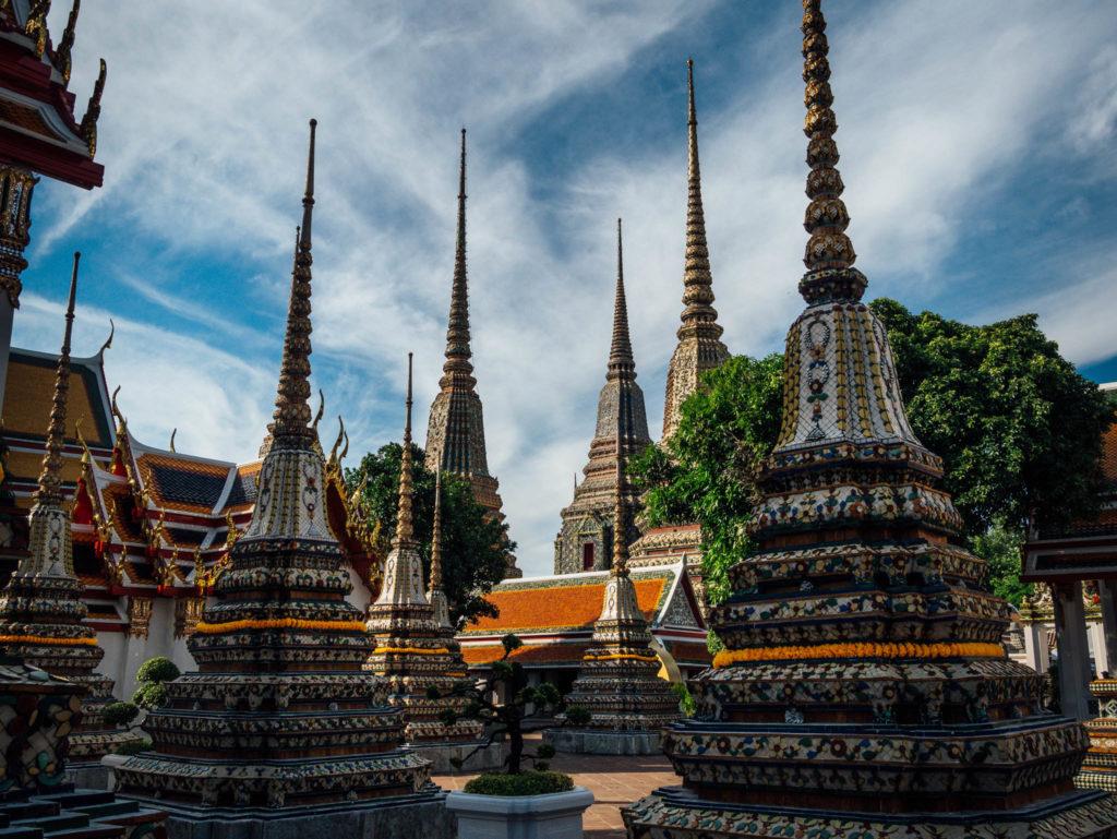 Dans l'enceinte du Wat Pho
