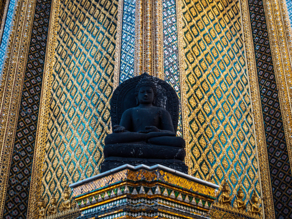 Un des nombreux bouddhas