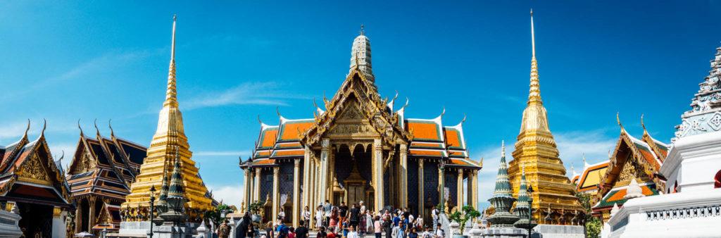 Le temple contenant un bouddha d'émeraude