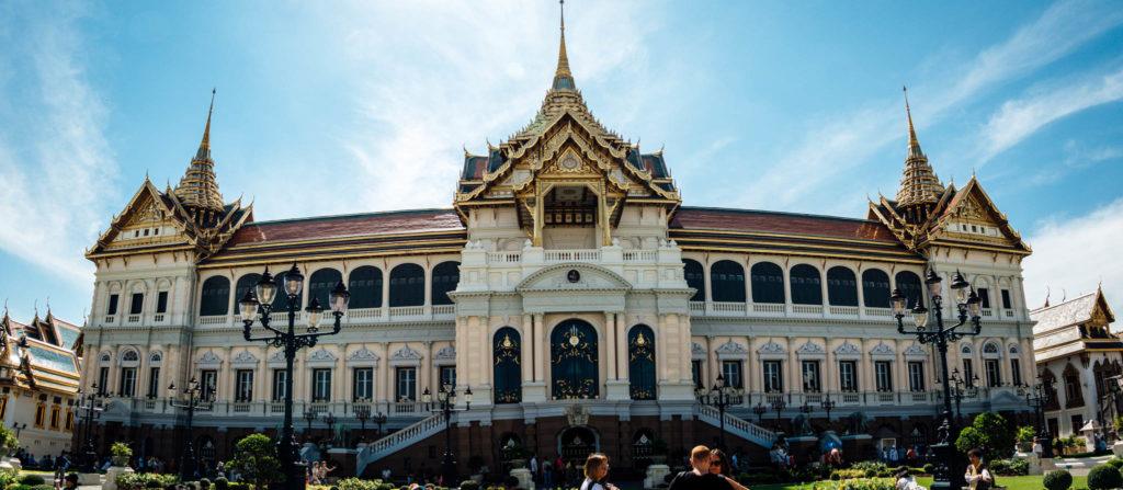 Le grand palais, ancienne résidence du roi
