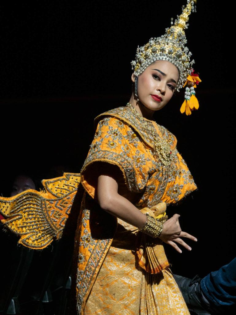 Une des danseuses principales