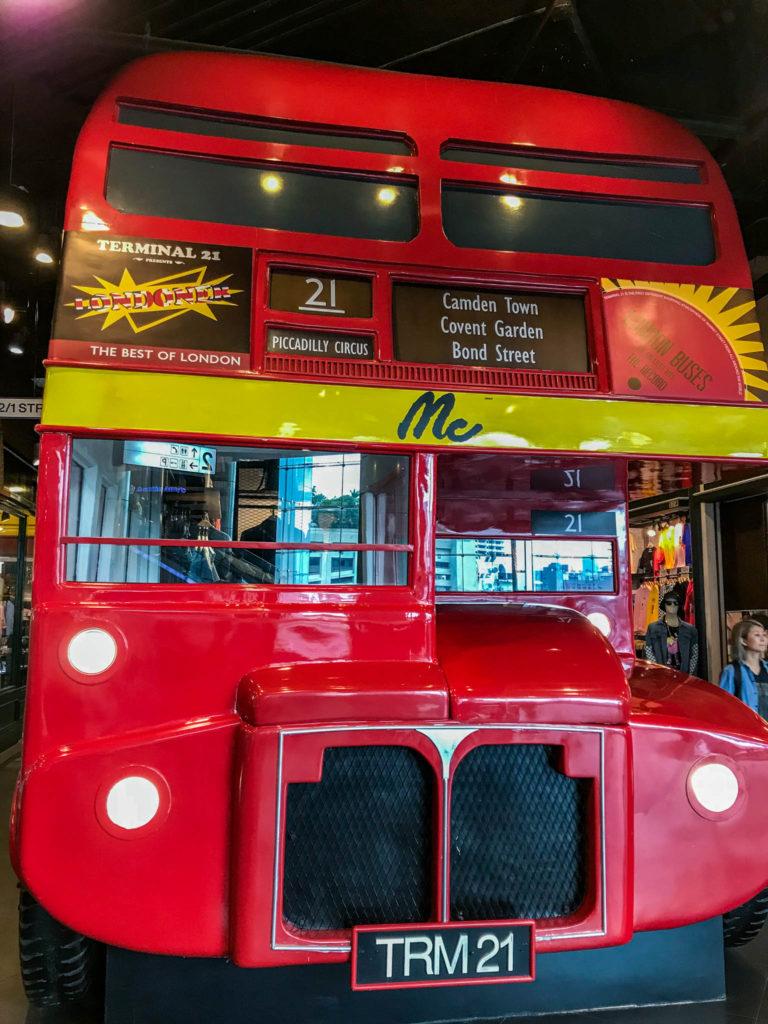 Un bus pour l'étage de Londres