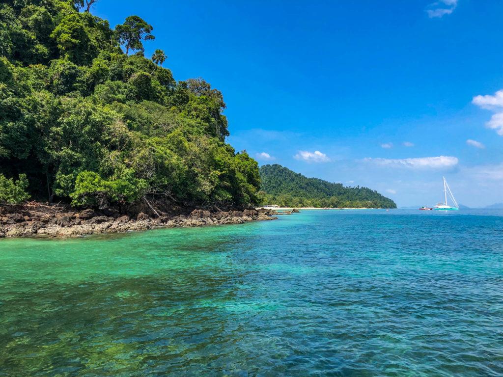 Quand tu découvres une île paradisiaque