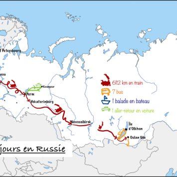 Bilan de 20 jours en Russie