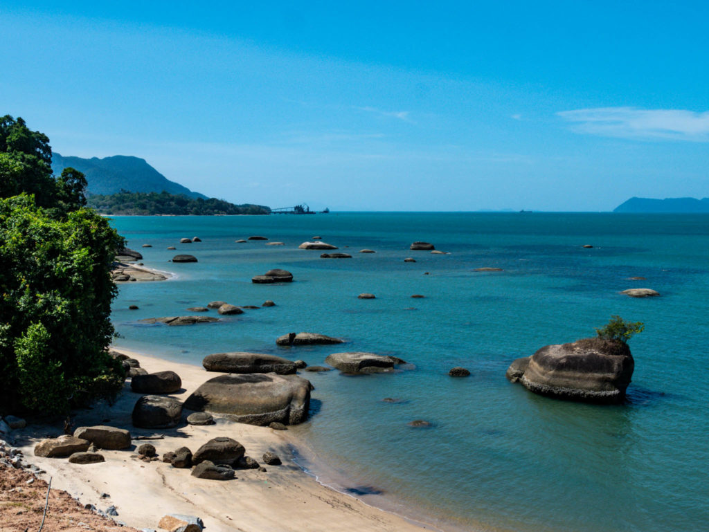 Une plage sur l'ïle de Langkawi
