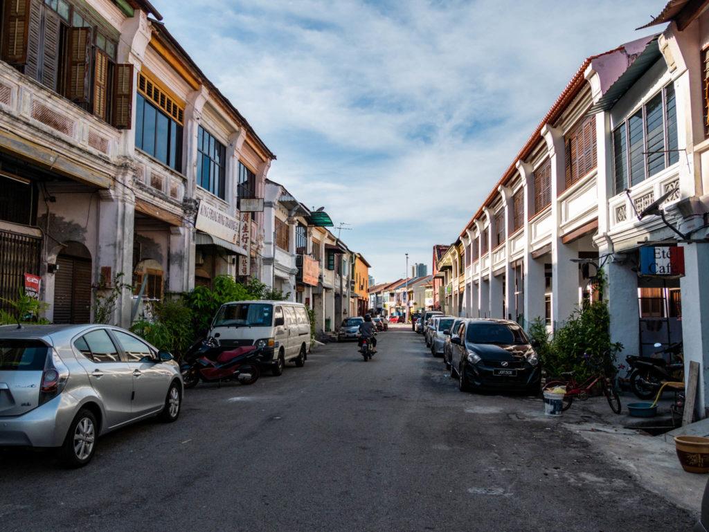 Une rue typique de Georgetown