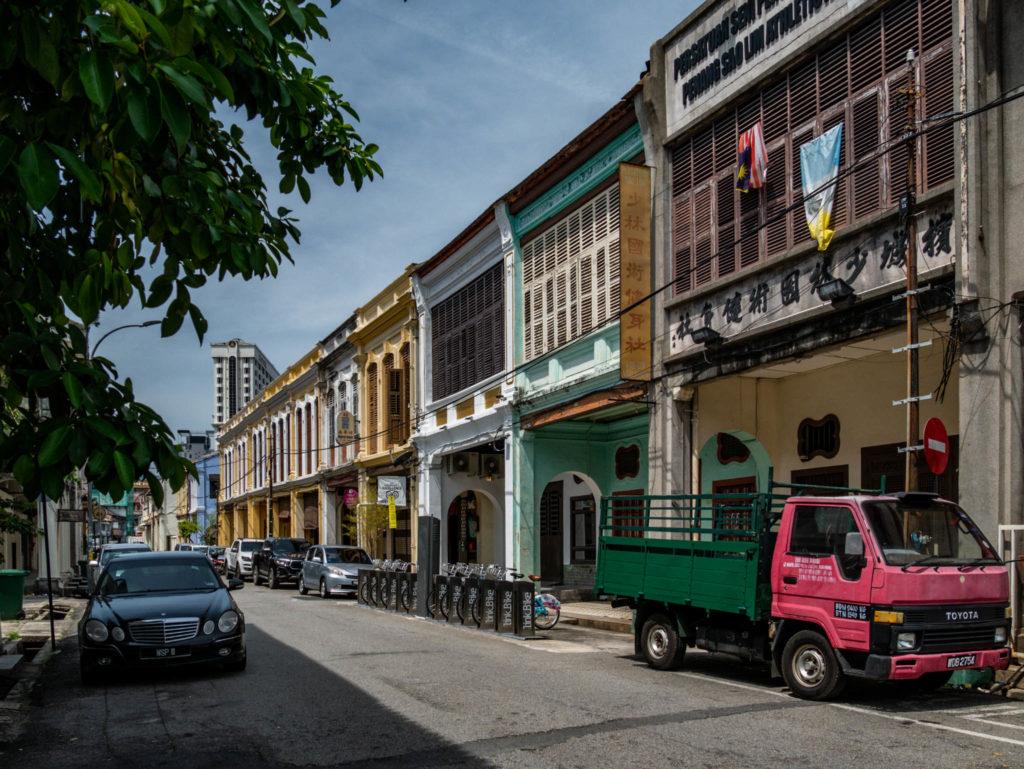 Les rues colorées de Georgetown