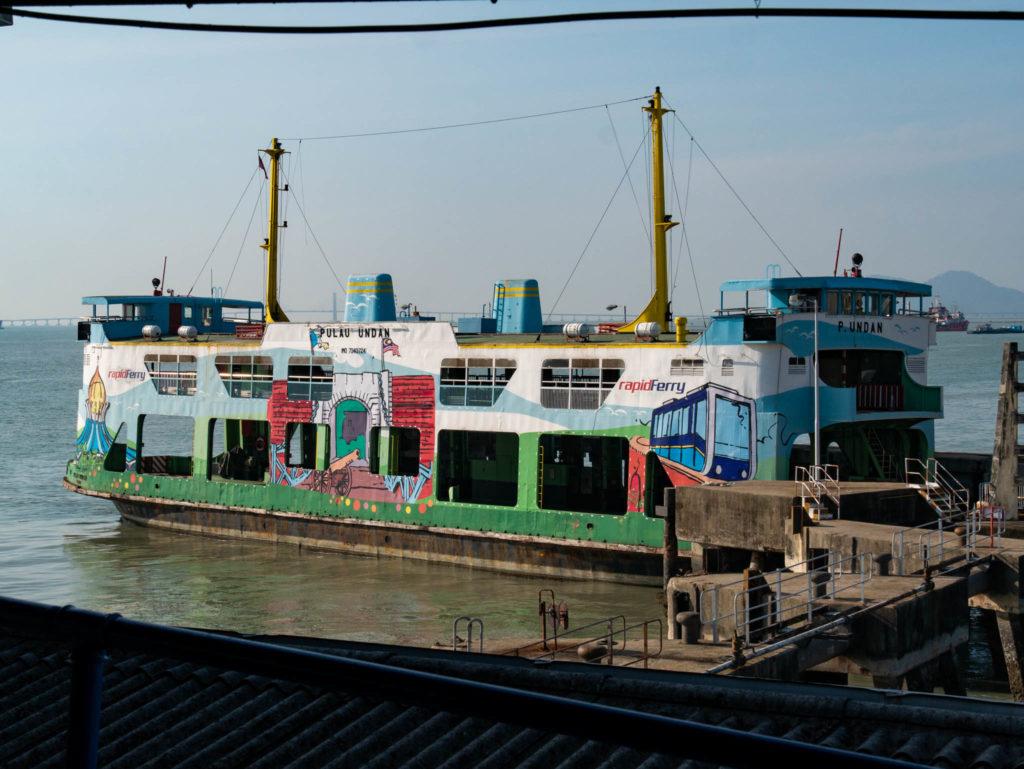 Notre ferry pour Butterworth