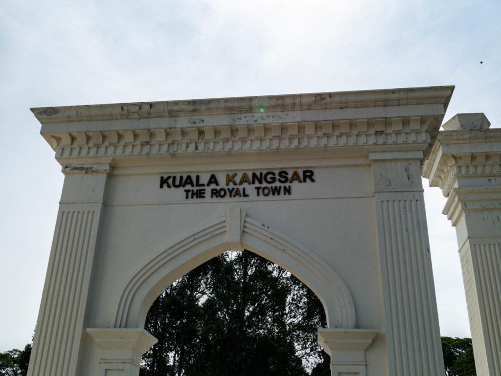 Kuala Kangsar, cité royale
