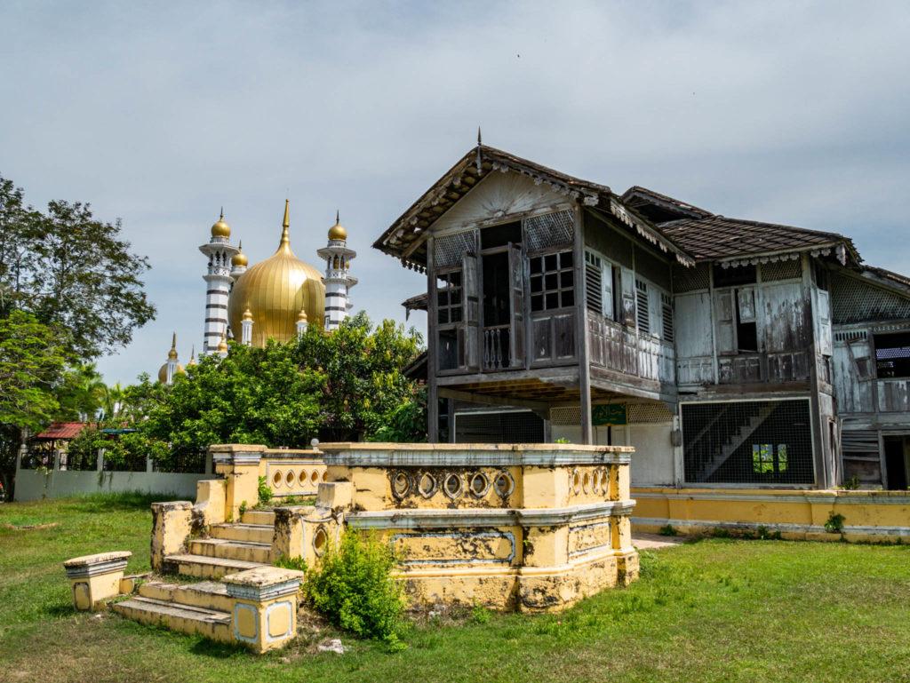 Une ancienne maison typique malaise