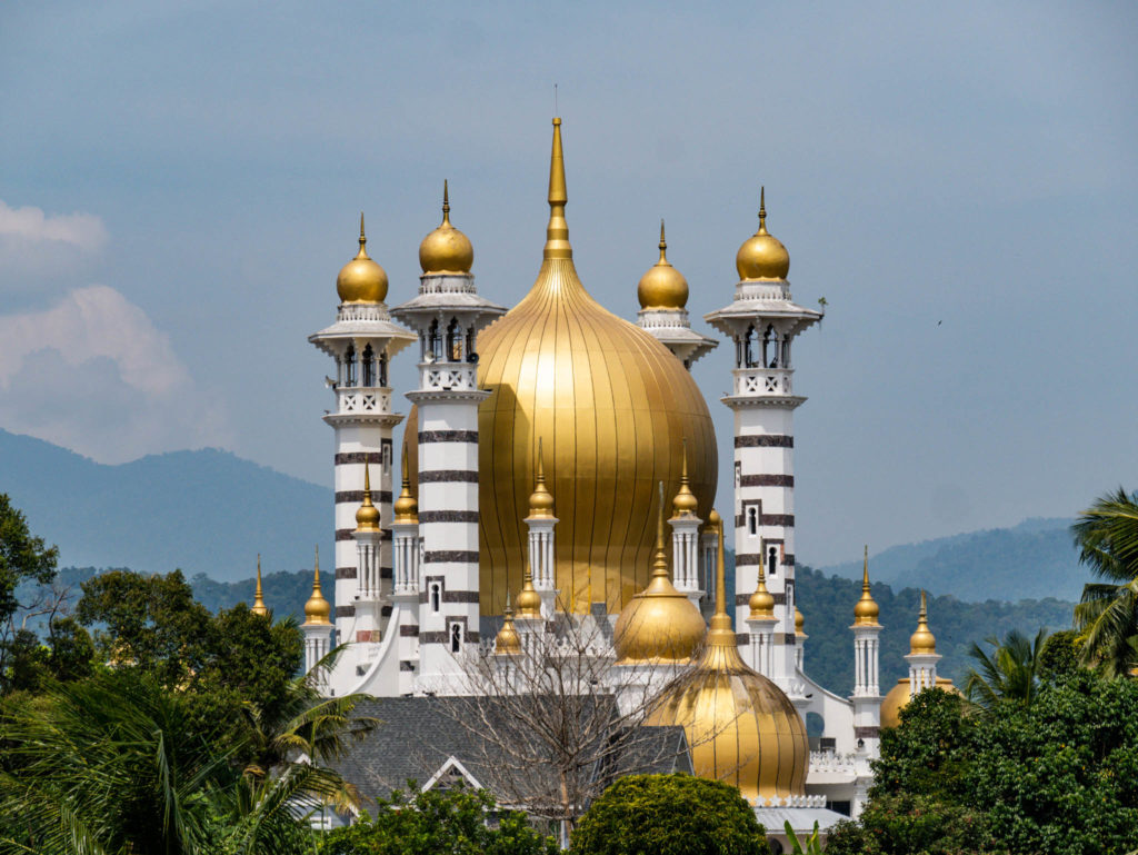 Les coupoles de la mosquée Ubudiah