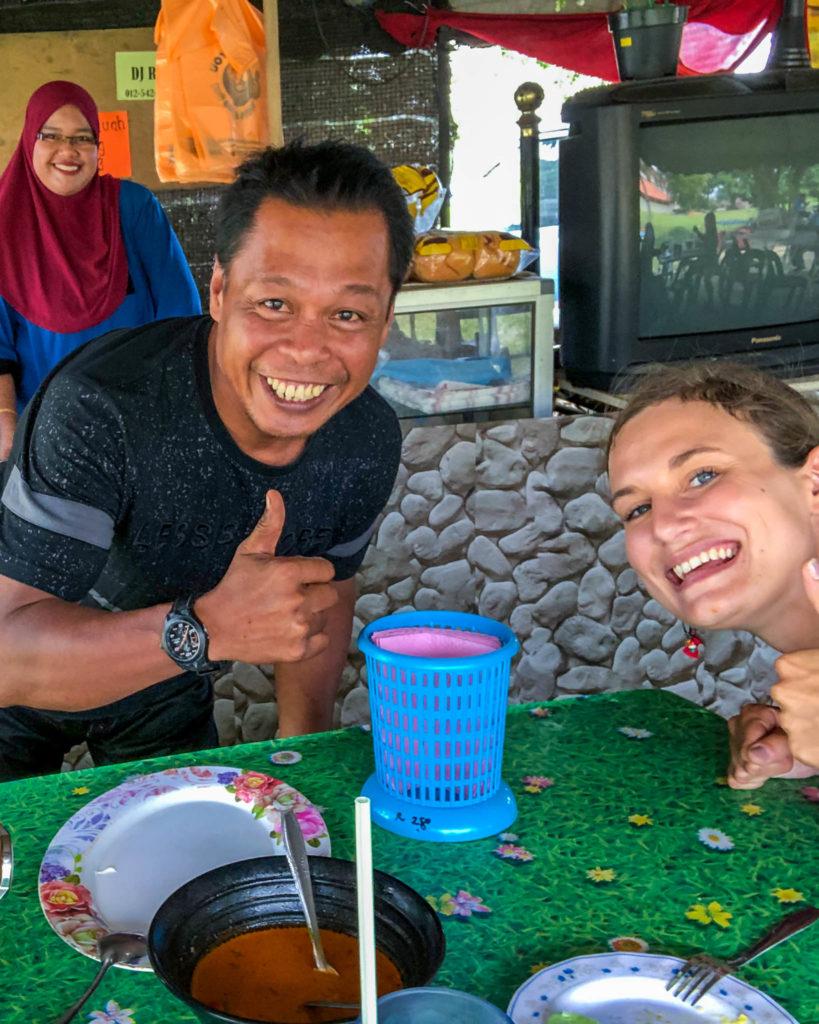 Encore un sourire d'un malaisien