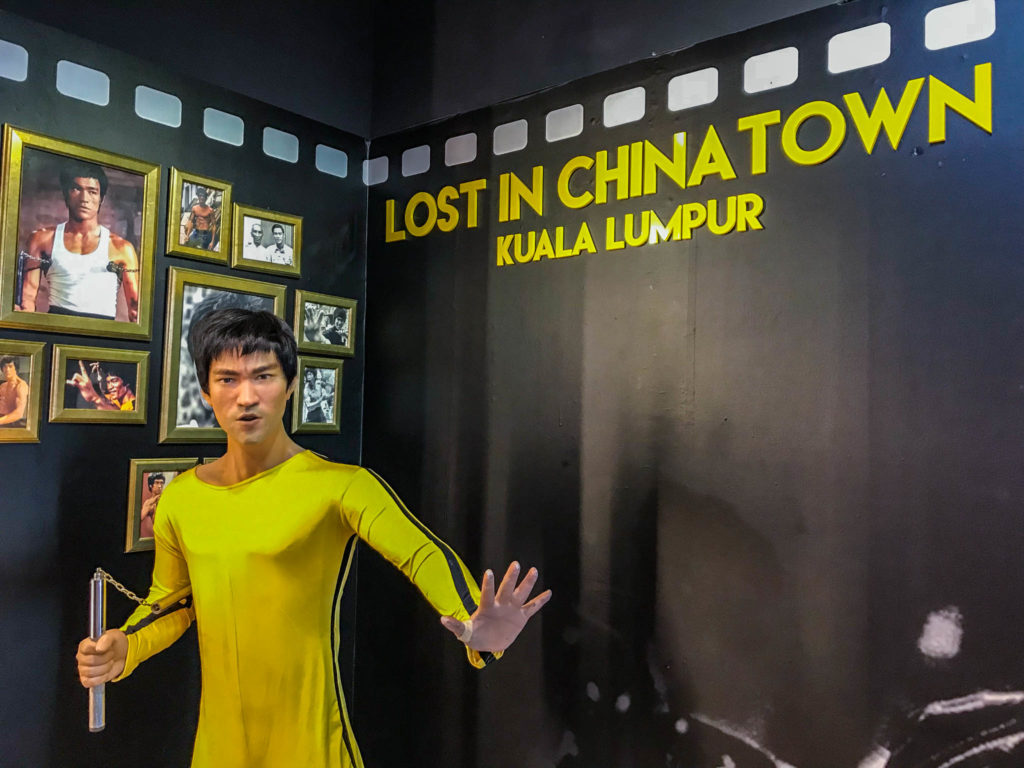 Entrée du musée Lost in Chinatown