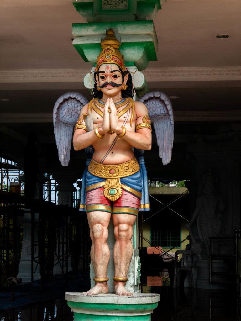 Statue décorant les temples