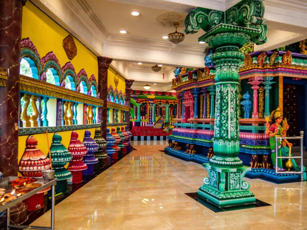 Très moderne ce temple
