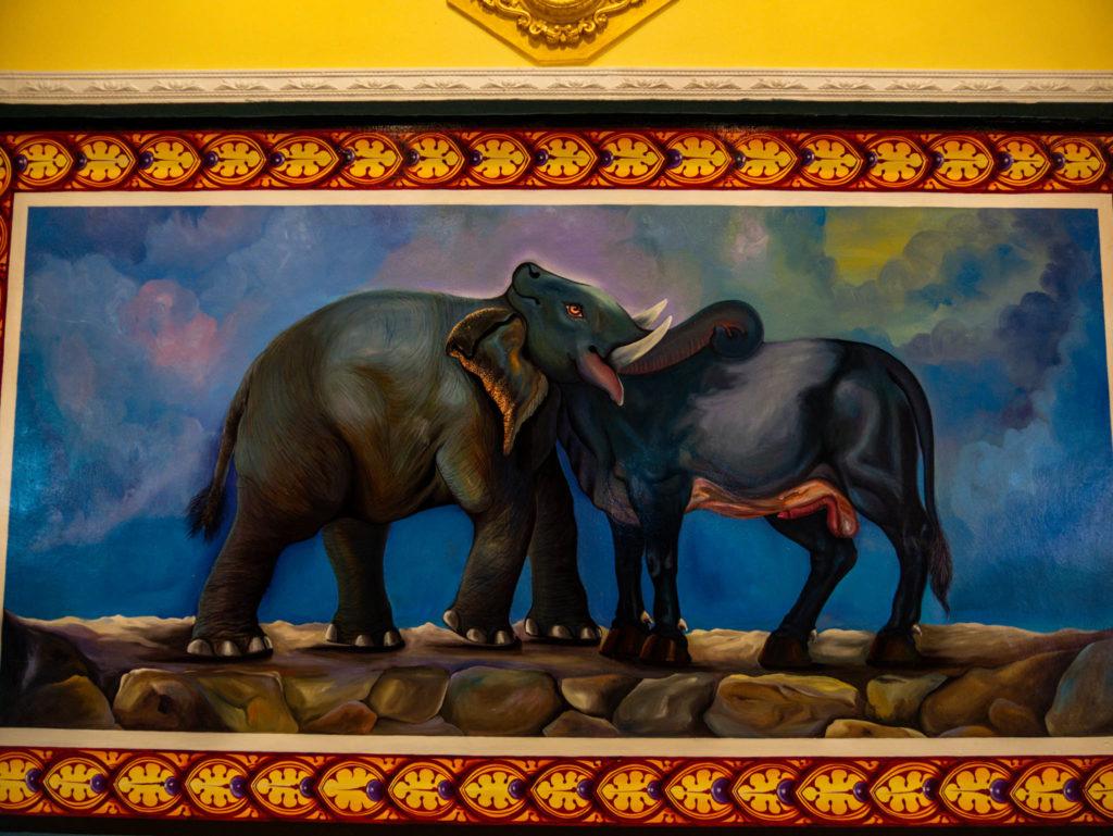 Que voyez vous ? Un éléphant ou un taureau ?