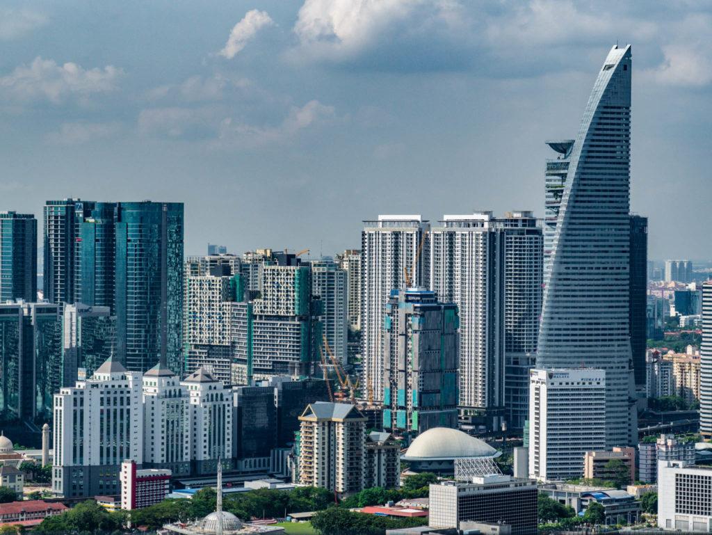 Les gratte-ciels de Kuala Lumpur