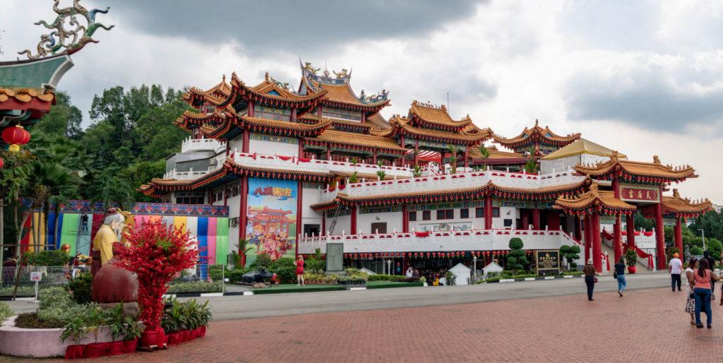 Le temple hindou chinois