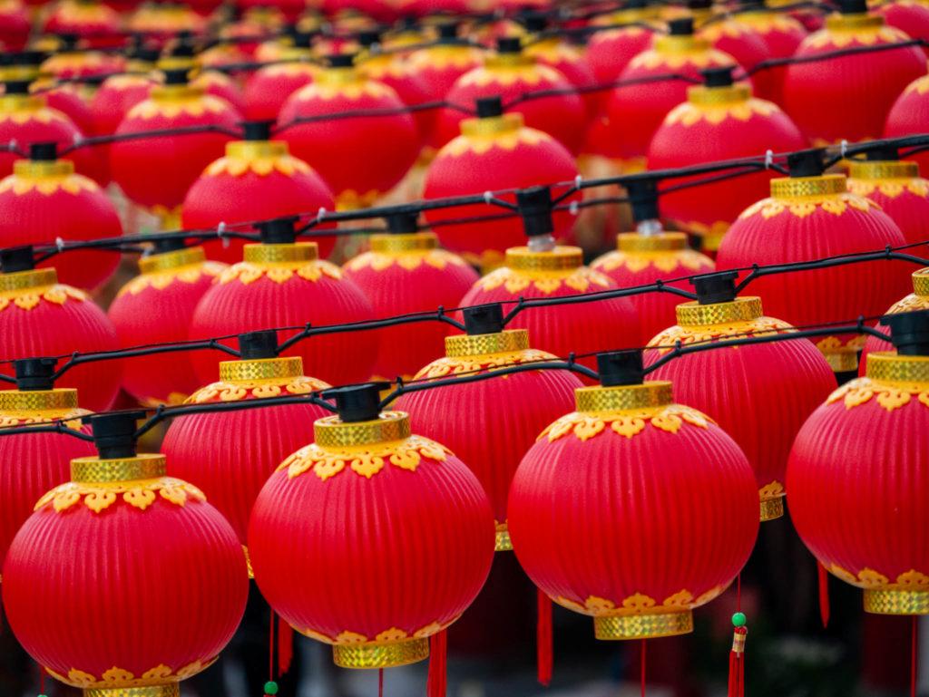 Lanternes par milliers