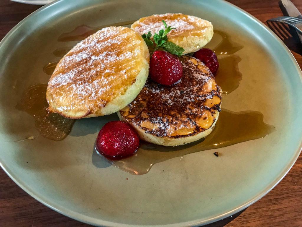 Pancakes au petit-déjeuner