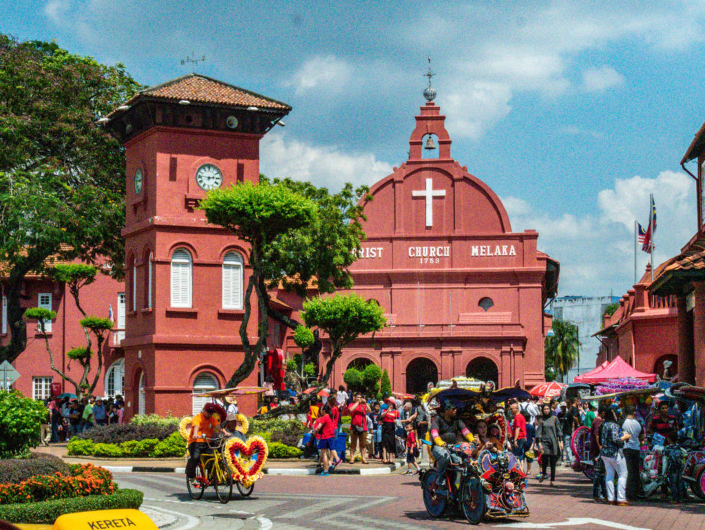 L'église principale de Malacca