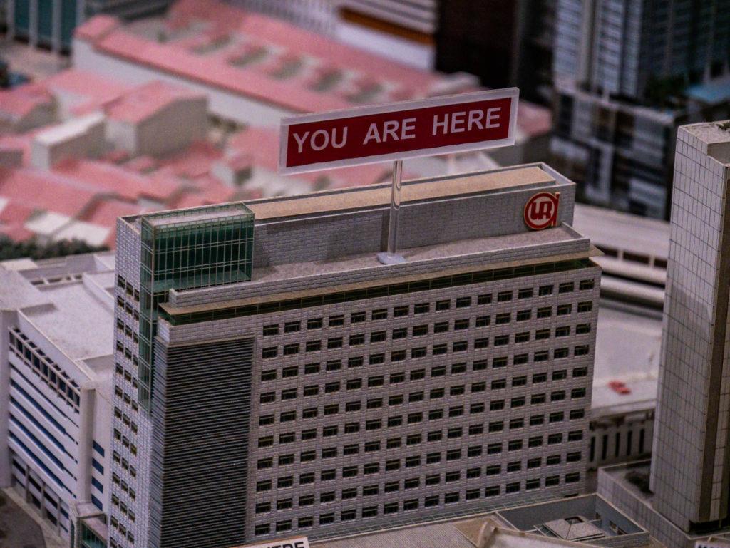 Vous êtes ici!