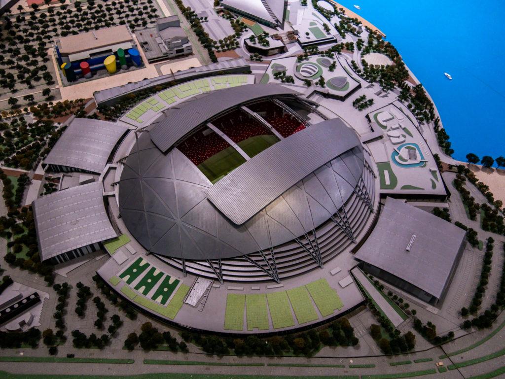 Le stade de Singapour