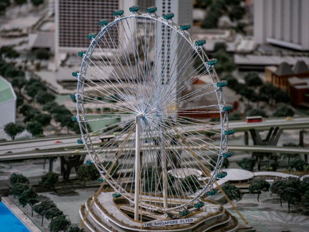 La grande roue de la ville