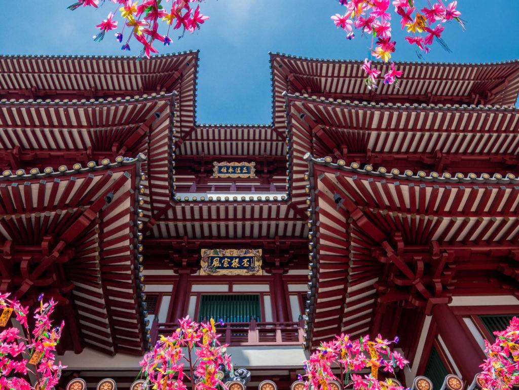Le temple de Bouddha