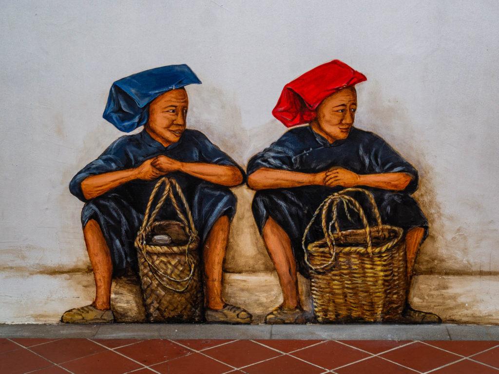 Une fresque dans la ville