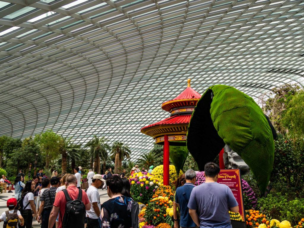 Une des serres du jardin botanique