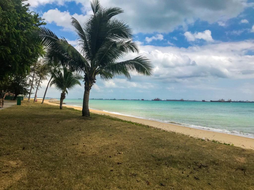 La plage du parc