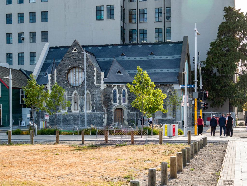 Une église à Christchurch