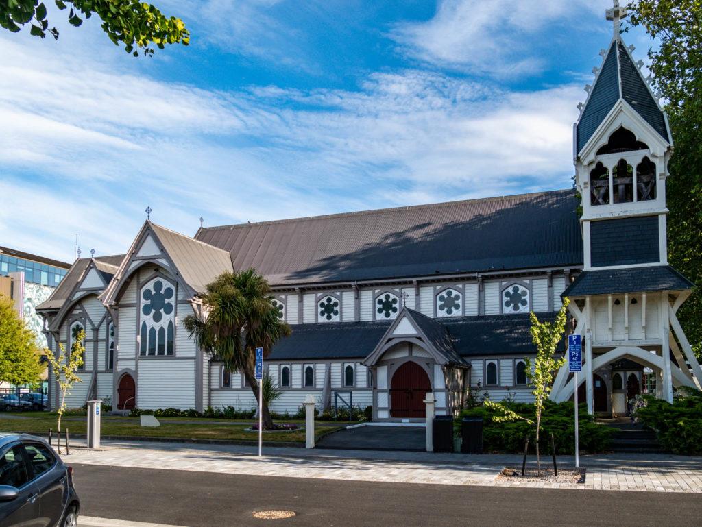 La nouvelle église de Christchurch