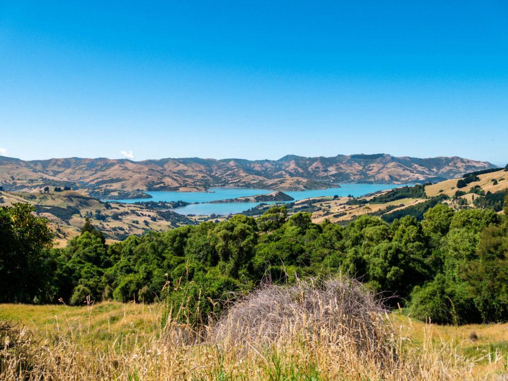 Magnifique vue de la péninsule de Banks