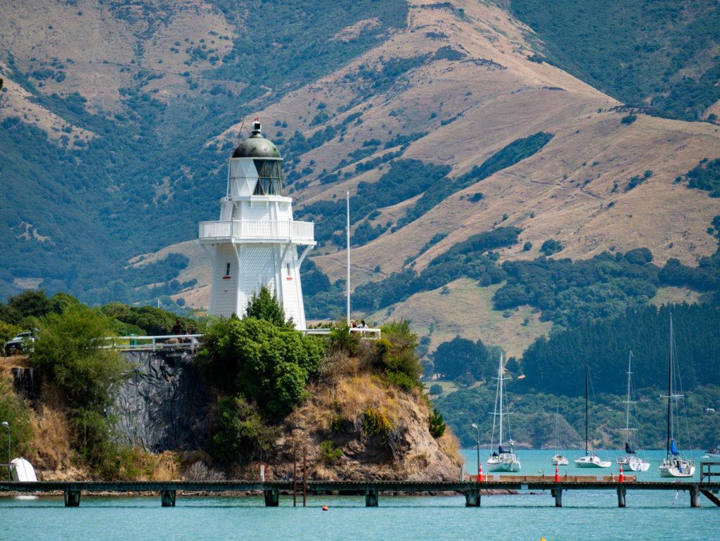 Le phare d'Akaroa