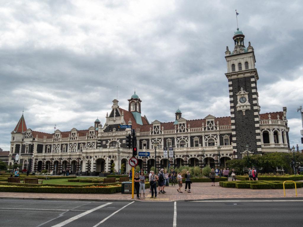 L'ancienne gare de Dunedin