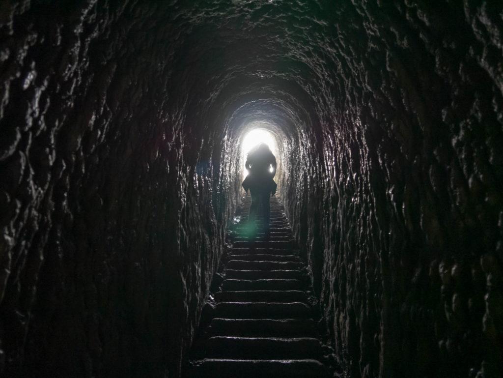 Le fameux tunnel