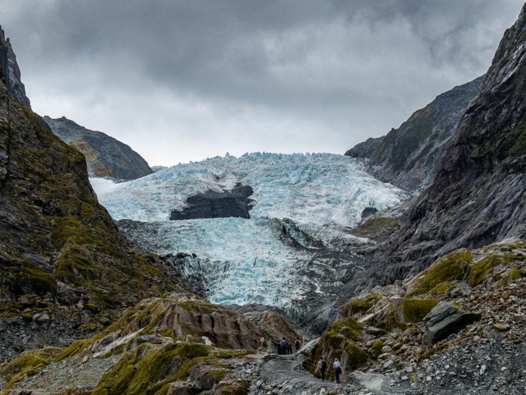 Le glacier Franz Joseph