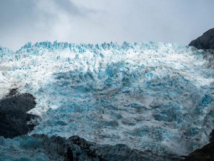 Les glaciers de Nouvelle-Zélande