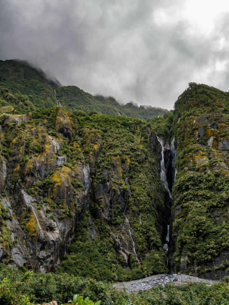 Des cascades par dizaines