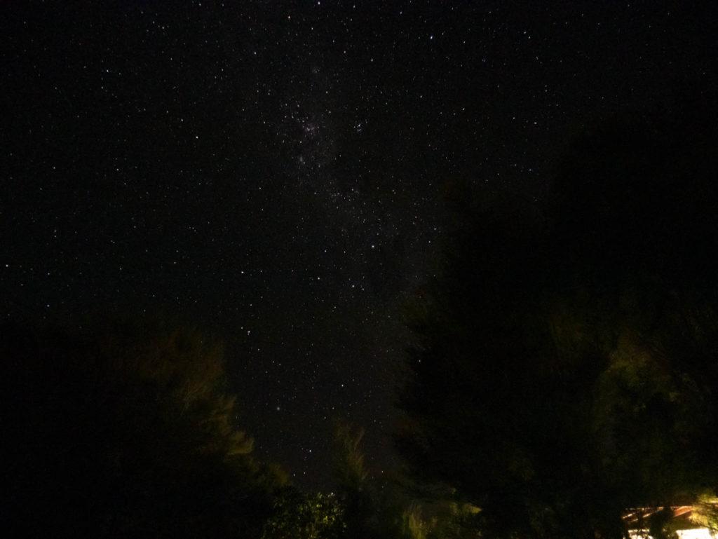 Les étoiles vue de notre hébergement